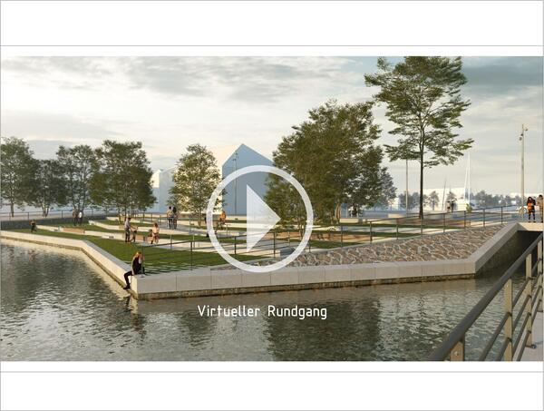 Projekt Binnenhafen/Nooröffnung